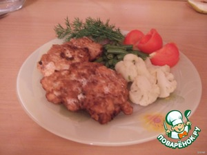 "Мясо по-французски ""От тети Любы"" – кулинарный рецепт"