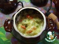 Куриные тефтельки с овощным ассорти в горшочке ингредиенты