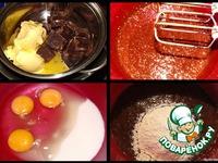 Шоколадно-клубничный торт Юбилейный ингредиенты
