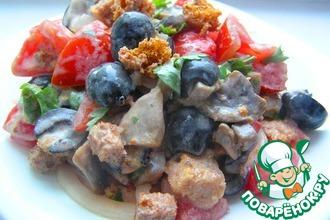 Рецепт: Хлебный салат Нотка Италии