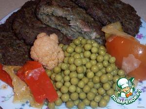 Подавать лучше с овощами или салатом.    Приятного аппетита!