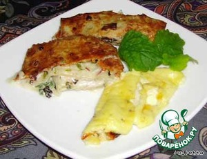 Лаваш со сливочным сыром, зеленью и омлетом – кулинарный рецепт