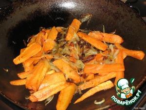 Рулетики с морковью — пошаговый рецепт с фото