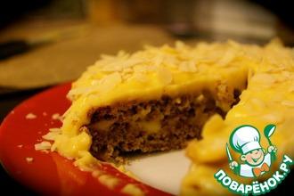 Рецепт: Миндальный торт Almondy