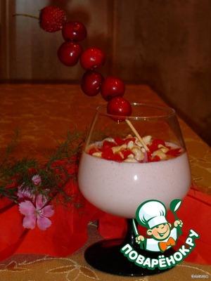 Сливочный крем с ягодами и меренгами – кулинарный рецепт