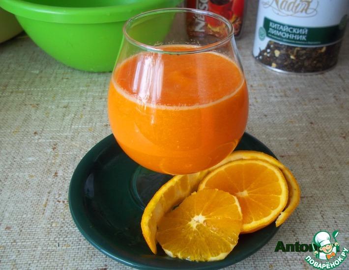 Рецепт: Напиток морковно-апельсиновый