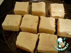 Оставляем на несколько часов или на ночь (если хватит терпения :lol: ), пока пирог полностью не остынет и только потом вынимаем из формы и режем на кусочки.