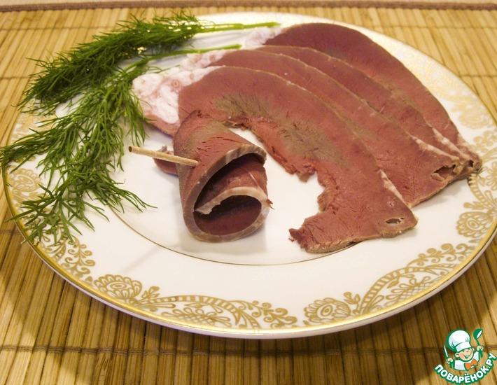 вареное говяжье сердце рецепт