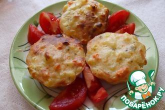 Рецепт: Кекс с картофелем и сыром