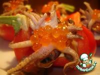 Лодочки с морепродуктами ингредиенты