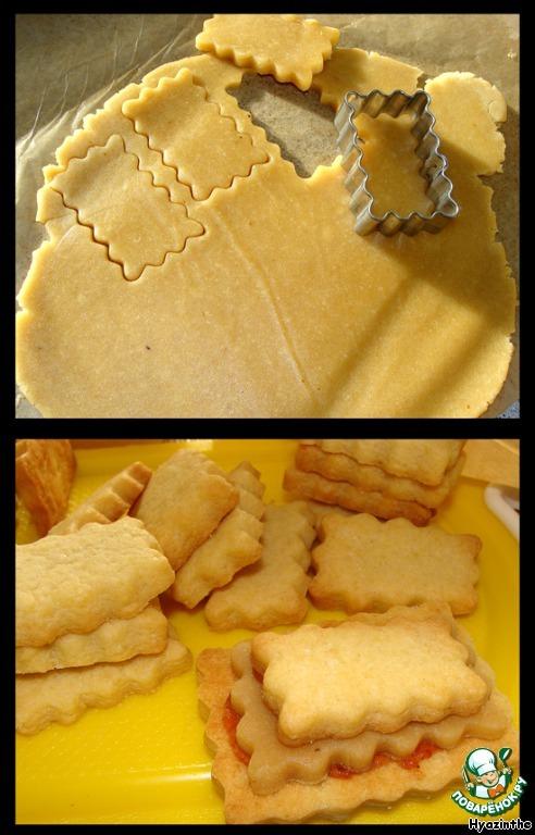 Лимонно-миндальное печенье
