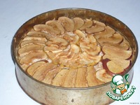 """Пирог """"Яблочно-творожный"""" ингредиенты"""
