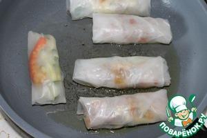 Спринг роллы – кулинарный рецепт