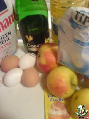 Яблочный пирог с корицей – кулинарный рецепт