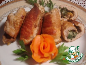 Fry in vegetable oil and our rolls are ready