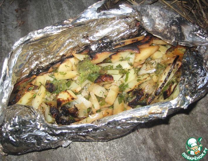 Рецепт: Картофель Для самых голодных