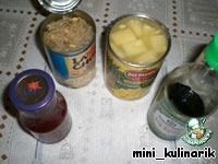 Курица с ананасом в кисло-сладком соусе ингредиенты