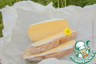 Рецепт: Домашний сыр с благородной белой плесенью