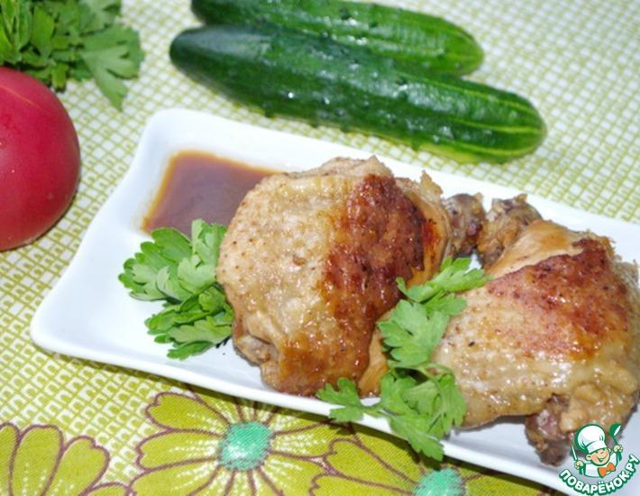 Рецепт: Дважды приготовленная курица Абодо