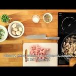 Свинина с шампиньонами в соусе китайский карри Blue Dragon