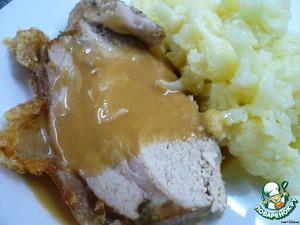 Свинина по-датски - Daenischer Schweinebraten – кулинарный рецепт