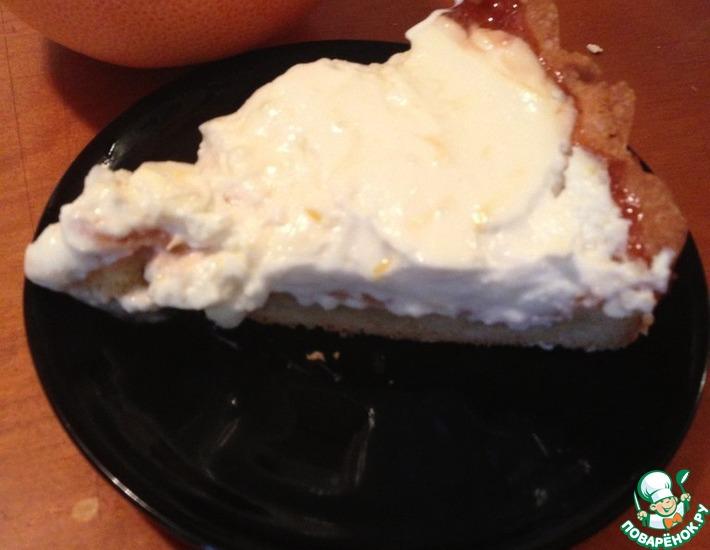 Рецепт: Пирог открытый Любовь