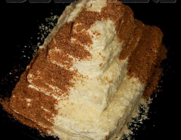 Рецепт: Основа для торта 7 стаканов