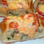 Экспресс-пирог из хлеба