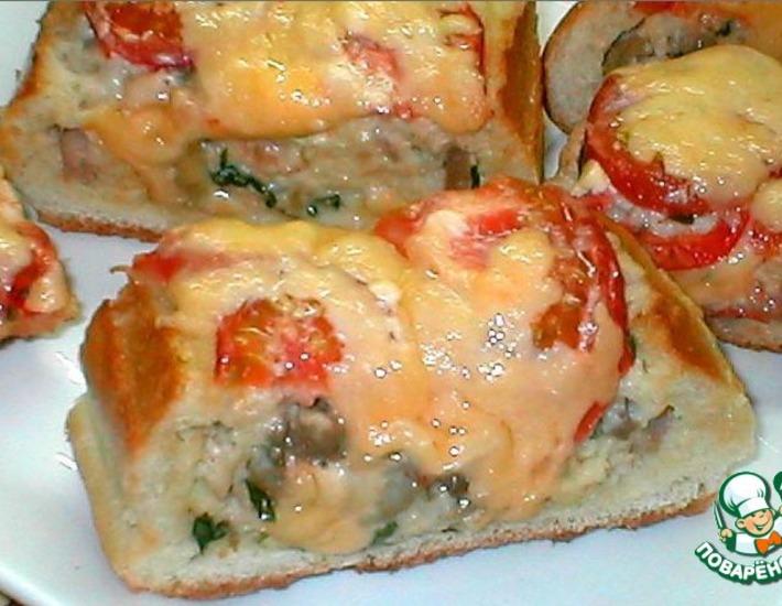 Пирог с капустой из батона белого хлеба 8