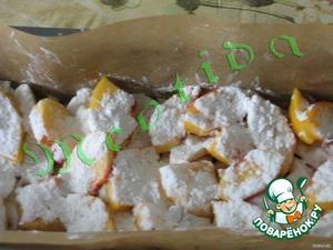 Горячий фруктово-творожный десерт – кулинарный рецепт