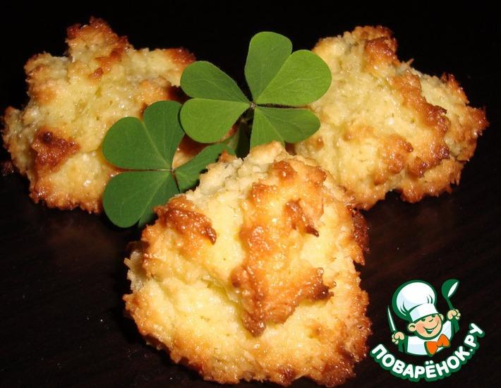 Рецепт: Печенье Кокосанки