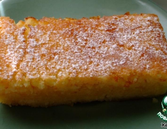 Рецепт: Ленивый лимонный пирог