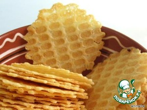 Cheese waffles