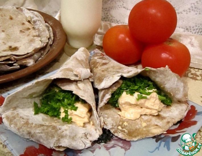 Ржаной лаваш – кулинарный рецепт