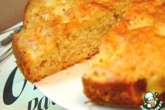 Рецепт: Будничный медово-яблочный пирог