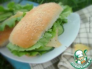 Рецепт Булочки для хот-догов