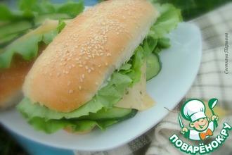 Рецепт: Булочки для хот-догов