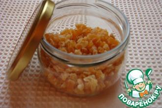 Рецепт: Цукаты из апельсиновых корочек
