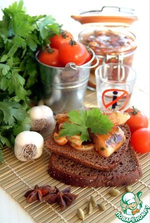Рецепт Сельдь малосольная маринованная в кисло-сладком томатном соусе