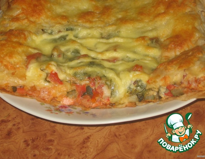 Рецепт: А-ля пицца