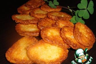 Рецепт: Хрустящее сырное печенье