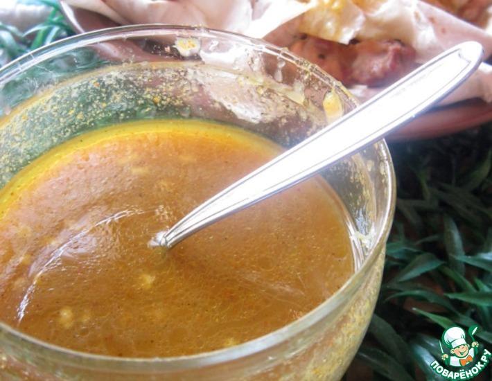 Рецепт: Яблочно-изюмный соус