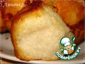 """Рецепт """"Обезьяний"""" хлеб с сыром и чесноком"""