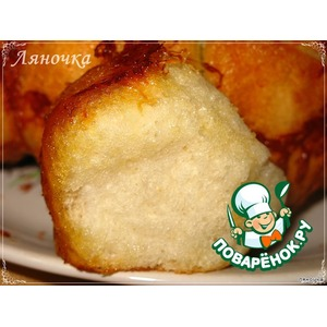 Хлеб Обезьяний с сыром и чесноком
