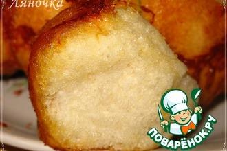 Рецепт: Хлеб Обезьяний с сыром и чесноком