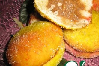Рецепт: Пирожные из детства Персики
