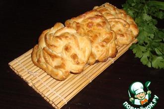 Рецепт: Ленивые булочки с сыром