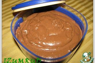 Рецепт: Крем для торта Нутелла