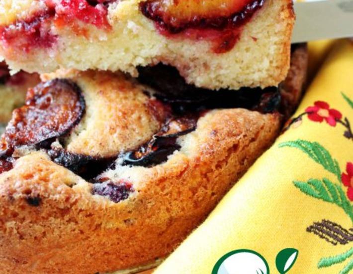 Рецепт: Сливовый пирог из Нью-Йорк Таймс