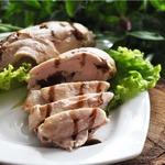 Куриное филе с начинкой в фольге